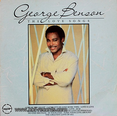 George Benson - The Love Songs 1985 1lp
