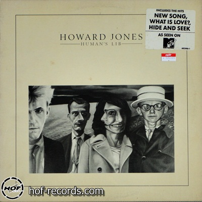 Howard Jones - Human's Lib 1lp