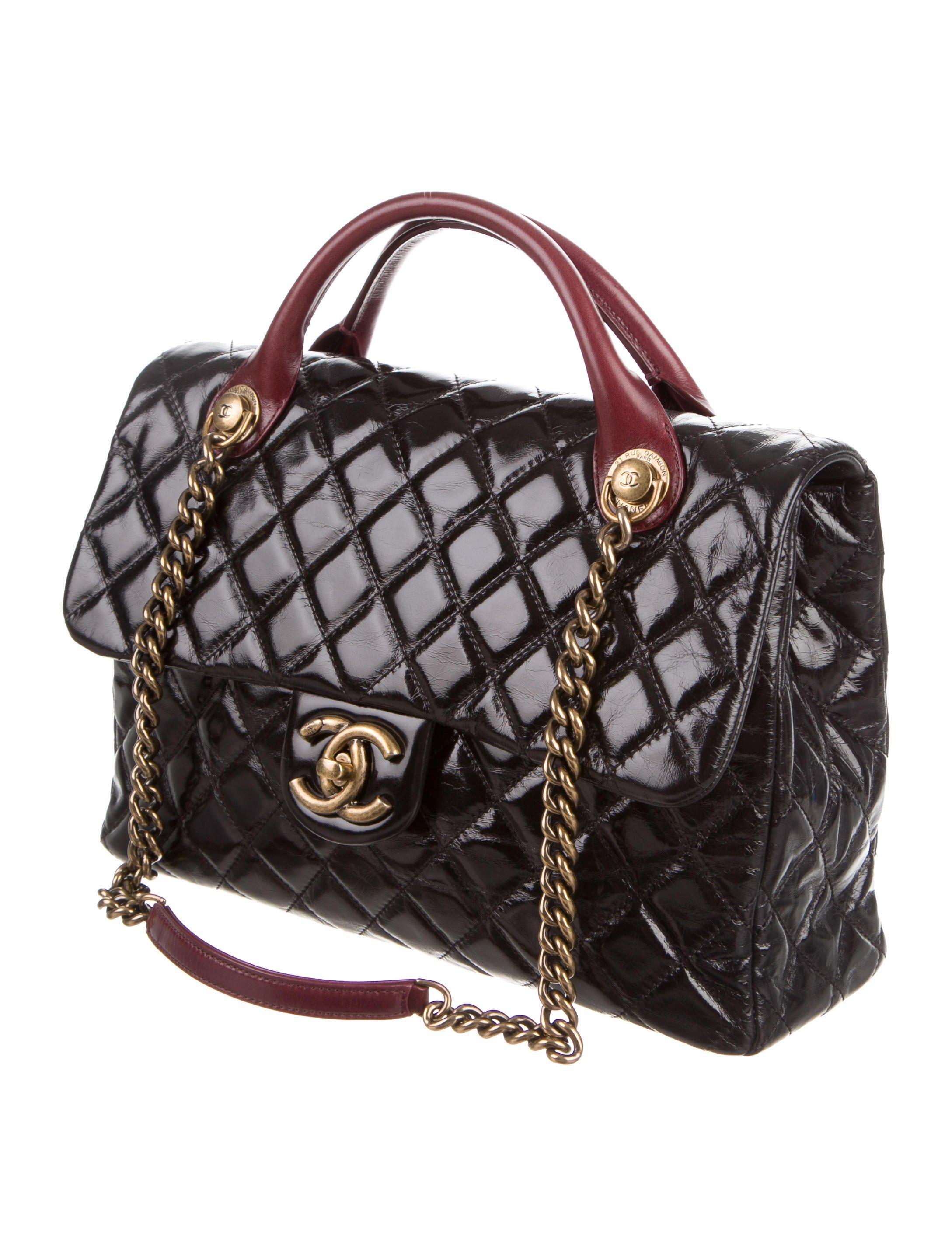 ช่องจัดระเบียบ Chanel Castle Rock Flap Bag 2016