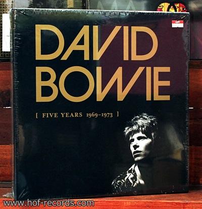 David Bowie - Five year 1969-1973 Boxset 10 Lp N.