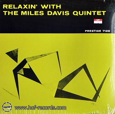 Miles Davis - Relaxin' With The Miles Davis Quintet 1lp NEW