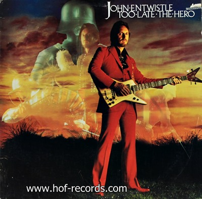 John Entwistle - Too Late The Hero 1981