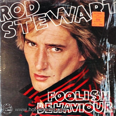 Rod Stewart - Foolish Behaviour 1980 1lp