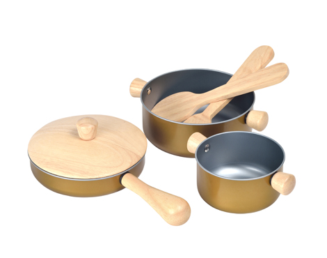 ของเล่นไม้ ของเล่นเด็ก ของเล่นเสริมพัฒนาการ Cooking Utensils (ส่งฟรี)