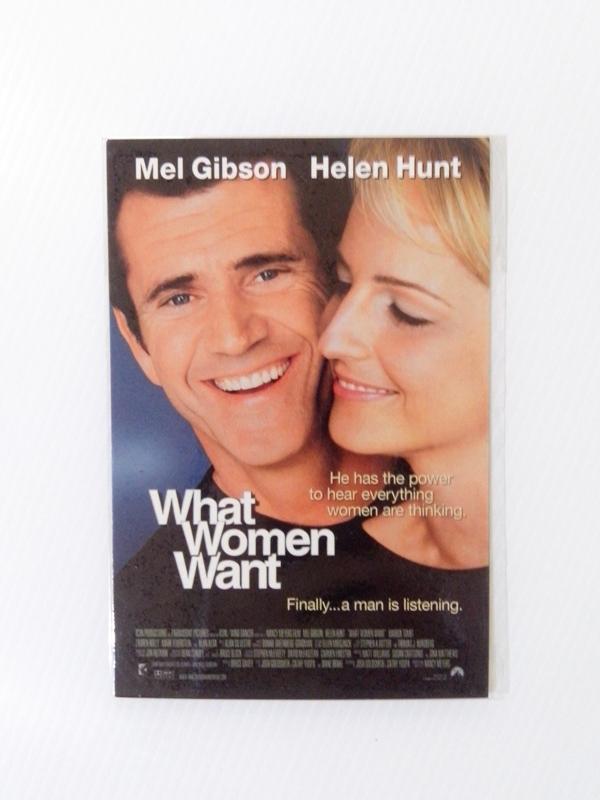 """โปสการ์ดภาพยนตร์ เรื่อง """"What woman want"""""""