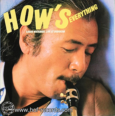 Sadao Watanabe - HOW's Everything 1980 _2 LP