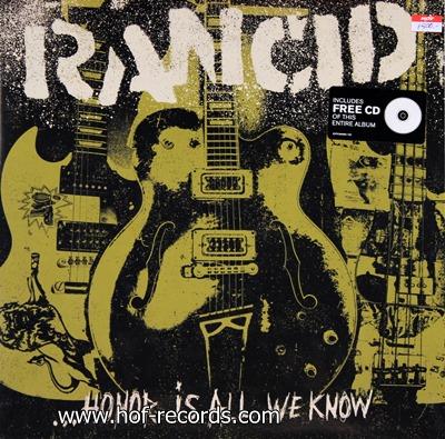 Rancid - Honok Is All We Know N.