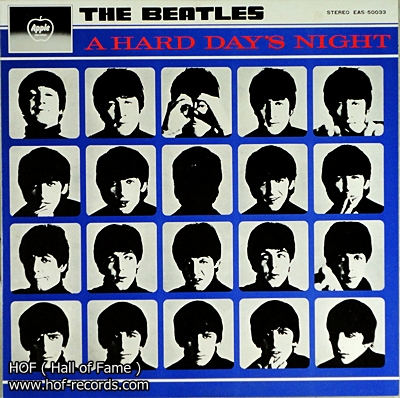 The Beatles - A hard day's night 1 Lp