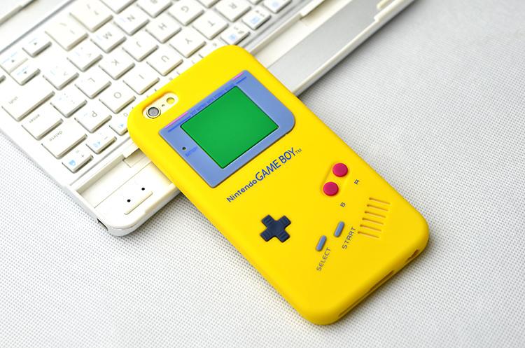 ** พร้อมส่งค่ะ ** เคส iPhone 6+/6s plus ลาย Gameboy สีเหลือง
