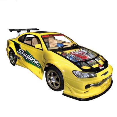 รถแข่งบังคับ Pro Sport Turbo EL301 สีเหลือง