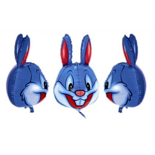 Bunny 3D Shape Foil Balloon - บอลลูนหน้ากระต่ายบันนี่ 3D / Item No.TL-B103