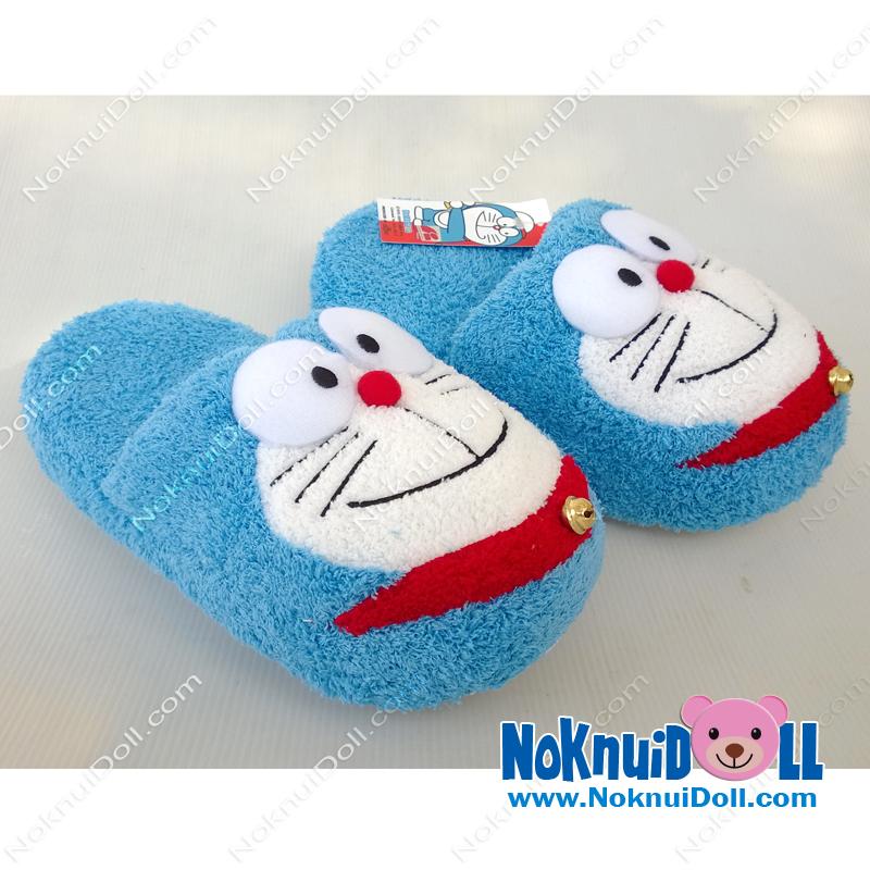รองเท้า โดเรมอน-Doraemon Slipper พื้นหนา ฟรีไซส์(เบอร์37-40)
