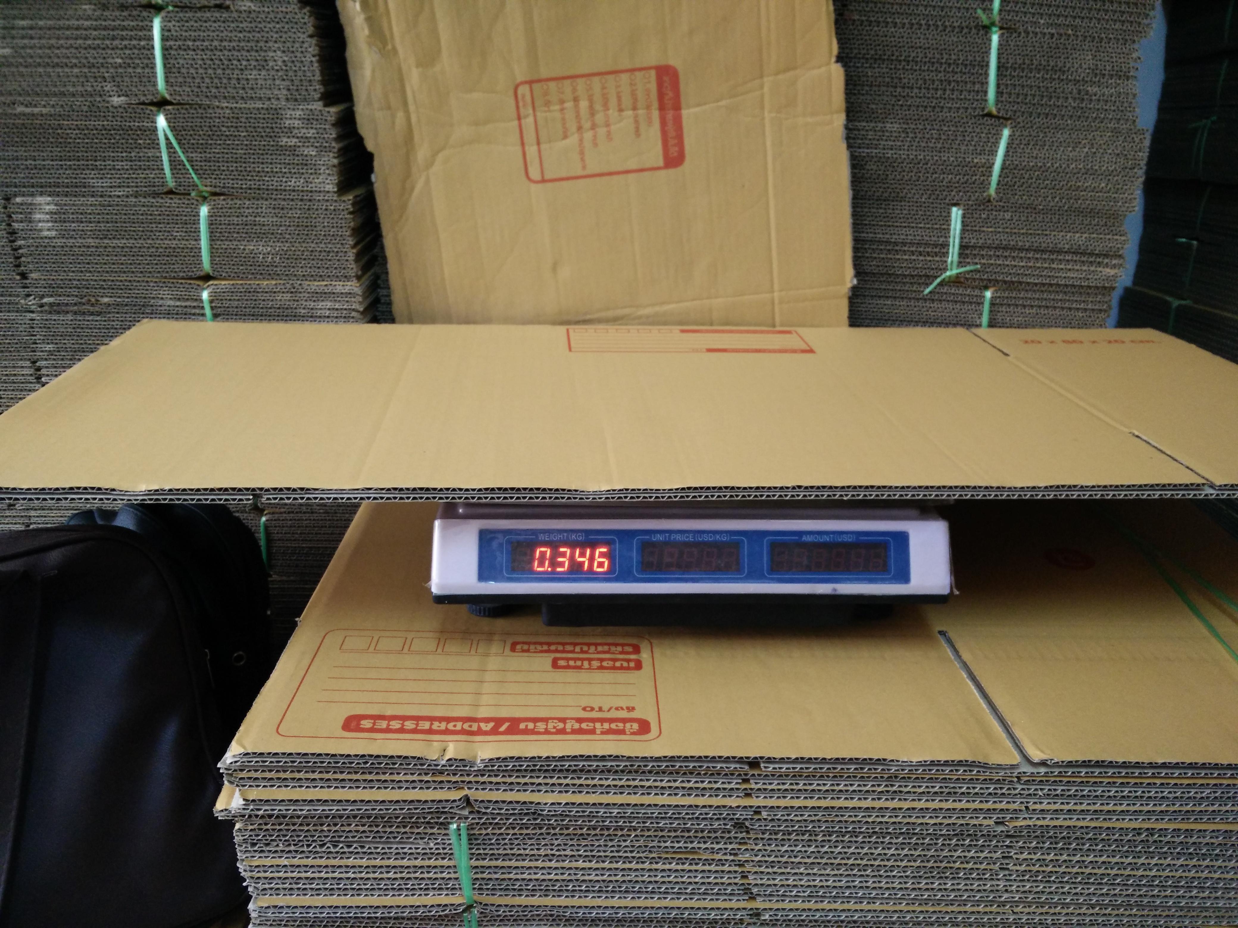 กล่องไปรษณีย์ฝาชน เบอร์ A1 30x80x30 ซม