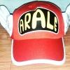 หมวก อาราเล่ (Arale) ติดปีก สีแดงเข้ม แบบที่ 1