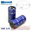 Super CAP 100F 2.7V MAXWELL