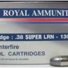 ลูกกระสุน .38 Sup LRN Royal