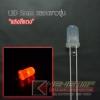 """LED 5mm หลอดขาวขุ่น แสงสี """"แดง"""" (100 Pcs)"""
