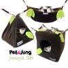 PetsJunG - Jungle Bedding Set เปลญวน/ปิรามิด2in1/ลูกเต๋า