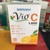 Vio C 1000 mg ฺ Biopharm ไวโอ ซี วิตามินซี 1000 มิลลิกรัม จาก ไบโอฟาร์ม