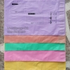 ซองพลาสติกสีพาสเทลM(25X35cm)(500ใบ)