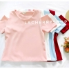 เสื้อแฟชั่นผ้าฮานาโกะ สีชมพู รุ่นเว้าไหล่ แบบสวยชิคๆ เสื้อสีพื้น ใส่ง่าย ใส่สบาย เนื้อผ้าฮานาโกะคุณภาพดี