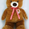 """ตุ๊กตา หมียืน ผ้าขนนุ่ม จัมโบ้ วัดยืนสูง120ซม.(48"""") / วัดนั่งสูง 80ซม.(32"""")"""