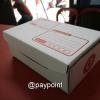 กล่องไปรษณีย์ ไดคัทสีขาว เบอร์ 0 ขนาด 11X17X6ซม.