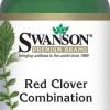 (USA) Swanson Red Clover Plus combination เพื่อสุขภาพที่ดีของอวัยวะภายใน ระบบไหลเวียน ช่วยล้างสารพิษตับ ไต