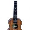 """อูคูเลเล่ Ukulele TOM รุ่น tuc-300 (England) Concert 23"""" ไม้ Zebrawood สาย Aquila แถมกระเป๋า"""