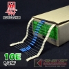 10E 1/2W 1% Metalfilm (100pcs)