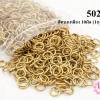 ห่วงทำสร้อย สีทองเหลือง 10มิล (1ถุง/500กรัม)