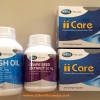 Combo บำรุงสายตา Mega We Care ii-care + Mega We Care Grape Seed + Mega We Care Fish Oil