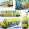 """หมอนข้าง สนูปปี้ Snoopy รถโรงเรียน 26"""" สีเหลือง"""