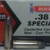 ลูกกระสุน .38 spl LRN Royal