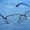 แว่นสายตายาวขาสปริง เลนส์กระจก ค่าสายตาตรง