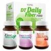 Vistra ชุดขจัดสารพิษและบำรุงผิว (DT Daily, Zinc45, Grape Seed30, Acerola45)