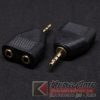 Audio Adaptor M-trs3.5 >> F-trs3.5x2 อย่างดี