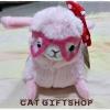 พร้อมส่ง :: ตุ๊กตา Alpacasso 20 ซม. สีชมพู