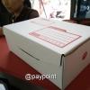 กล่องไปรษณีย์ ไดคัทสีขาว เบอร์ ค ขนาด 20x31x11 ซม.