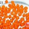 คริสตัลสวารอฟสกี้ (SWAROVSKI)สีส้ม(237) 4มิล(100เม็ด)