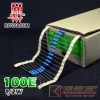 100E 1/2W 1% Metalfilm (100pcs)