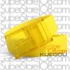 เข็มขัดซิลิโคน Candy Color Belt : สีเหลือง