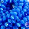 หินตาแมวเจียร สีน้ำเงิน (จีน) (1เส้น)