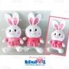 ตุ๊กตาพรีเมี่ยม กระต่าย เมืองไทยประกันชีวิต สูง14นิ้ว D5401Q500