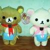ตุ๊กตาน้องหมี Rilakkuma และ Korilakkuma (ราคาต่อคู่ค่ะ)