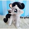 พร้อมส่ง :: ตุ๊กตา Pony สีเทา 6 inc.
