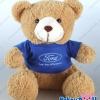 ตุ๊กตาพรีเมี่ยม Ford ตุ๊กตาหมีนั่ง11นิ้ว ใส่เสื้อ+สกรีนโลโก้ 2ด้าน D5411Q0300