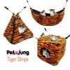 PetsJunG - Tiger Stripe Bedding Set เปลญวน/ปิรามิด2in1/ลูกเต๋า