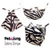 PetsJunG - Zebra Stripe Bedding Set เปลญวน/ปิรามิด2in1/ลูกเต๋า