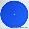 แผ่นรองเครื่องเล่นแผ่นเสียง ทำจากยาง สีน้ำเงิน (Blue)